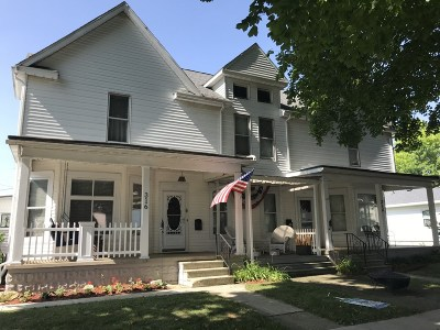 Plymouth Multi Family Home For Sale: 316 W Laporte Street
