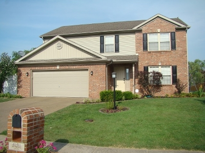 Evansville Single Family Home For Sale: 4101 Kenmore Drive