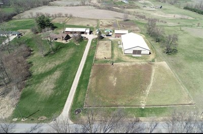 Noble County Farm & Ranch For Sale: 2321 E 550 S-57