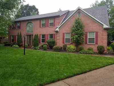 Evansville Single Family Home For Sale: 610 N Beringer Drive