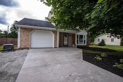 Granger IN Single Family Home For Sale: $165,000
