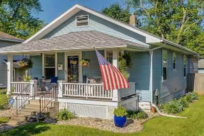 Elkhart Single Family Home For Sale: 233 Bank Street