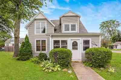 Winona Lake Single Family Home For Sale: 805 Tennis Street