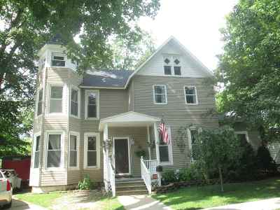 Plymouth IN Single Family Home For Sale: $144,800