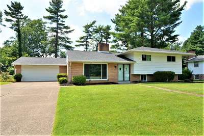 Evansville Single Family Home For Sale: 867 Park Plaza Drive