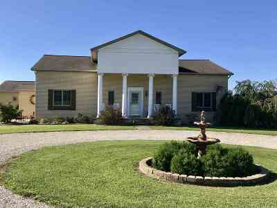 Spencer County Single Family Home For Sale: 6359 E County Rd. 1900 N. Road