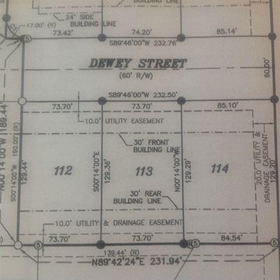 Dekalb County Residential Lots & Land For Sale: 1503 S Dewey Street