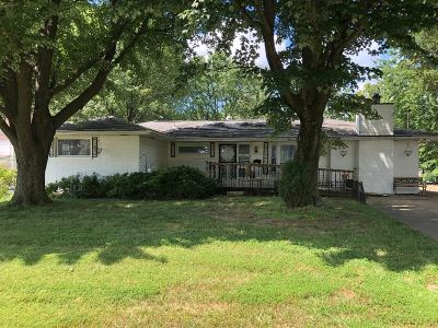 Evansville Single Family Home For Sale: 201 W Buena Vista Road