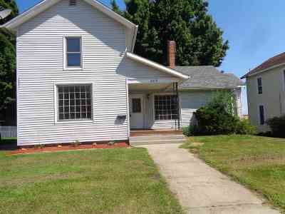 Lagrange Single Family Home For Sale: 206 W Central Avenue