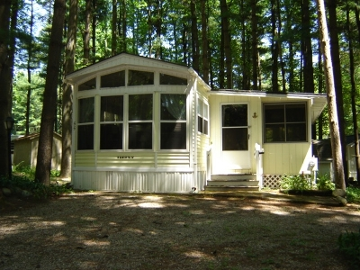 Angola Manufactured Home For Sale: 55 Evergreen Tr, Vop