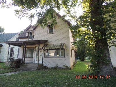 Marion Single Family Home For Sale: 1604 S Gallatin Street