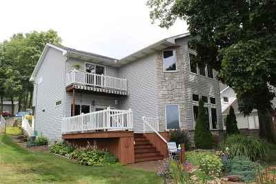 LaGrange County Single Family Home For Sale: 9460 E 520 S Big Long Lake