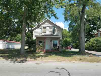 Plymouth IN Single Family Home For Sale: $89,900