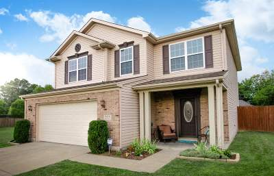 Evansville Single Family Home For Sale: 9434 Hedgewood Court
