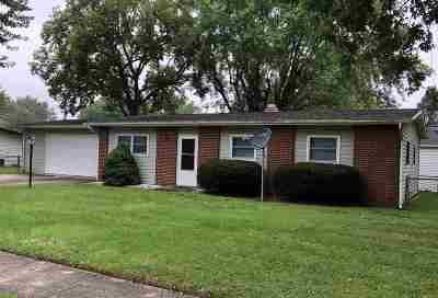 Marion Single Family Home For Sale: 743 E Crestview Drive