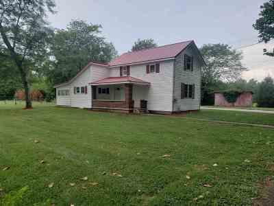 Wabash Single Family Home For Sale: 1336 Hazel