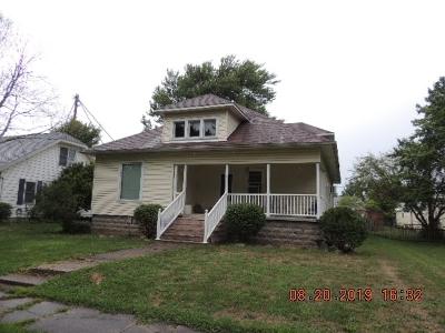 Swayzee Single Family Home For Sale: 112 W Marks Street