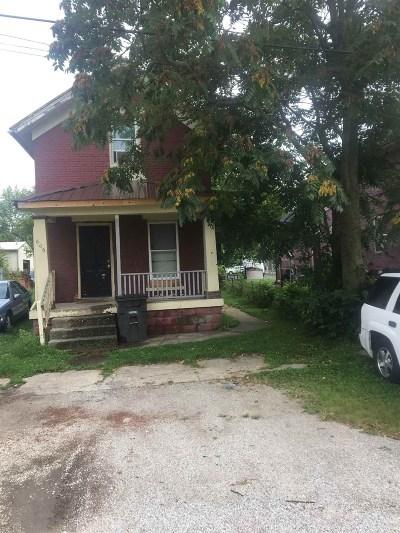 Allen County Single Family Home For Sale: 606 Locust Street