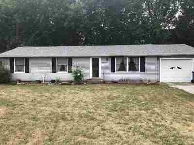 Plymouth IN Single Family Home For Sale: $133,000