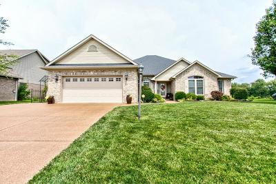 Evansville Single Family Home For Sale: 2800 Thornhill Drive