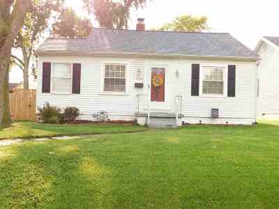 Evansville Single Family Home For Sale: 2462 N Evans Avenue