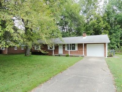 Evansville Single Family Home For Sale: 806 E Mill Road