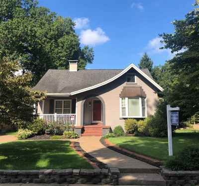 Evansville Single Family Home For Sale: 807 S Lombard Avenue