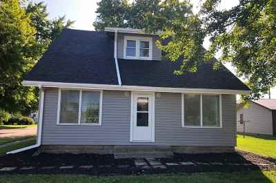 Sweetser Single Family Home For Sale: 218 N Greenberry Street