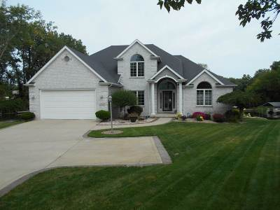 Kosciusko County Single Family Home For Sale: 11590 N Fascination Way