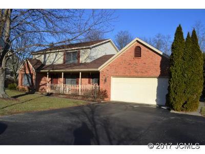 Single Family Home For Sale: 2522 Oak Ridge Ln