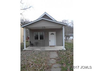Madison IN Single Family Home For Sale: $68,000