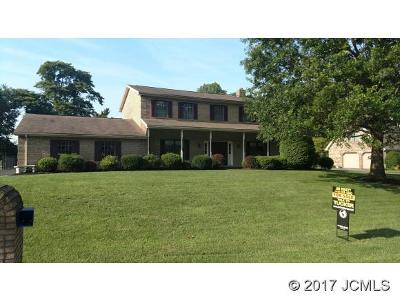 Single Family Home For Sale: 123 Cherry Trace