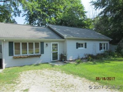 Madison IN Single Family Home For Sale: $87,900