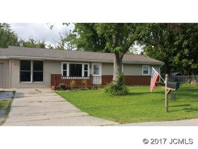 Single Family Home For Sale: 850 Green Rd