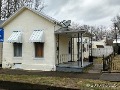 Madison IN Single Family Home For Sale: $67,500