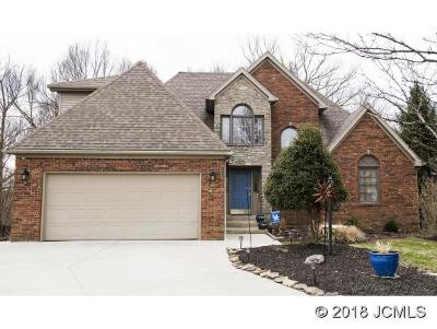 Single Family Home For Sale: 2503 Poplar Ridge Ln