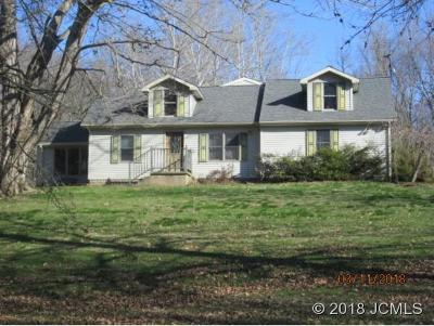Madison Single Family Home For Sale: 6474 Deputy Pike Rd