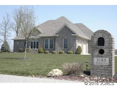 Hanover Single Family Home For Sale: 3185 River Bluff Dr