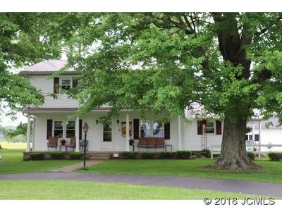 Single Family Home For Sale: 4402 Ten Cent Rd