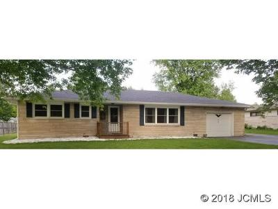 Madison IN Single Family Home For Sale: $139,900