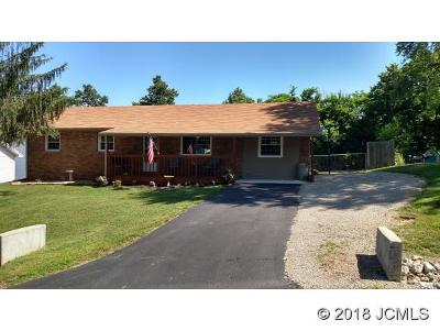 Madison IN Single Family Home For Sale: $112,500