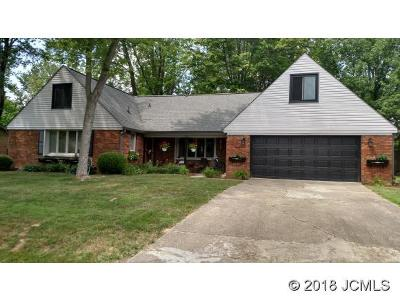 Madison IN Single Family Home For Sale: $209,900