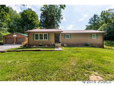 Single Family Home For Sale: 8146 N. Terry Rd