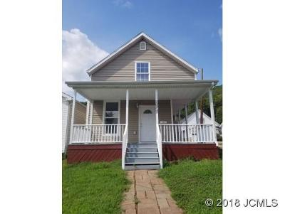 Madison IN Single Family Home For Sale: $94,900