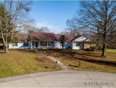 Madison Single Family Home For Sale: 1010 Fairmount Farms