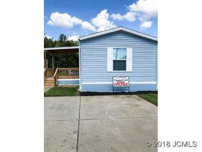 Madison IN Single Family Home For Sale: $41,950
