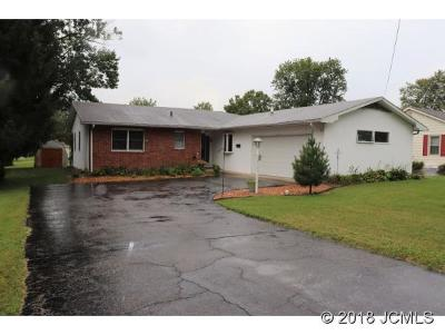 Madison IN Single Family Home For Sale: $127,000