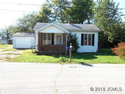 Madison IN Single Family Home For Sale: $69,900