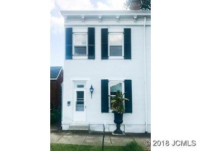 Madison IN Single Family Home For Sale: $99,900