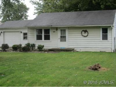Madison IN Single Family Home For Sale: $57,900
